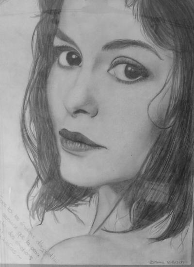 Audrey Tautou by farylein95